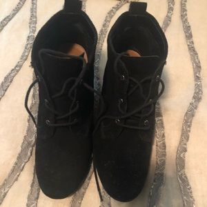 DV by Dolce Vita wedge black booties